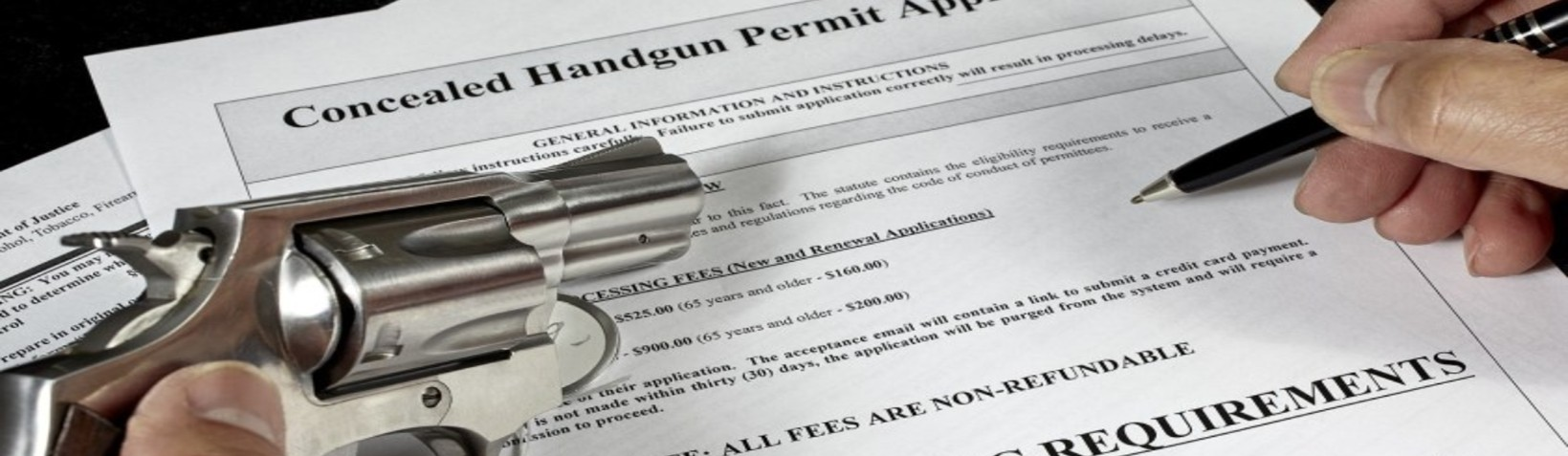 <b>CCW Permit: </b></br> Gun Laws in California